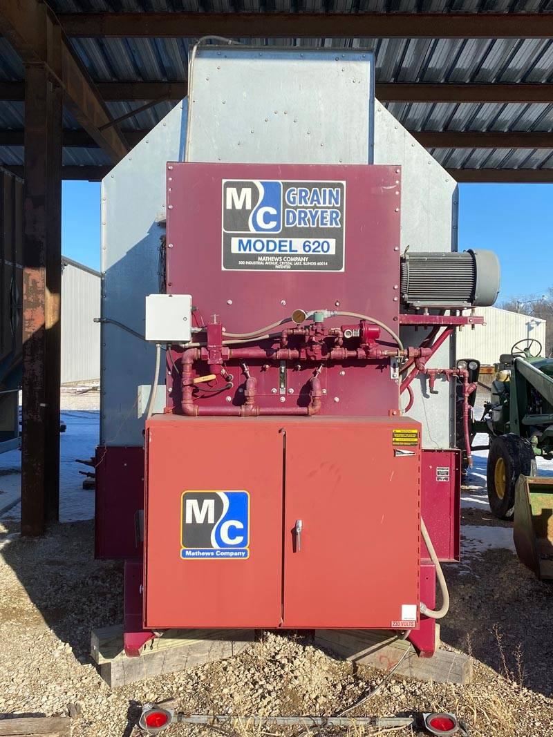 MC 620C Used Dryer